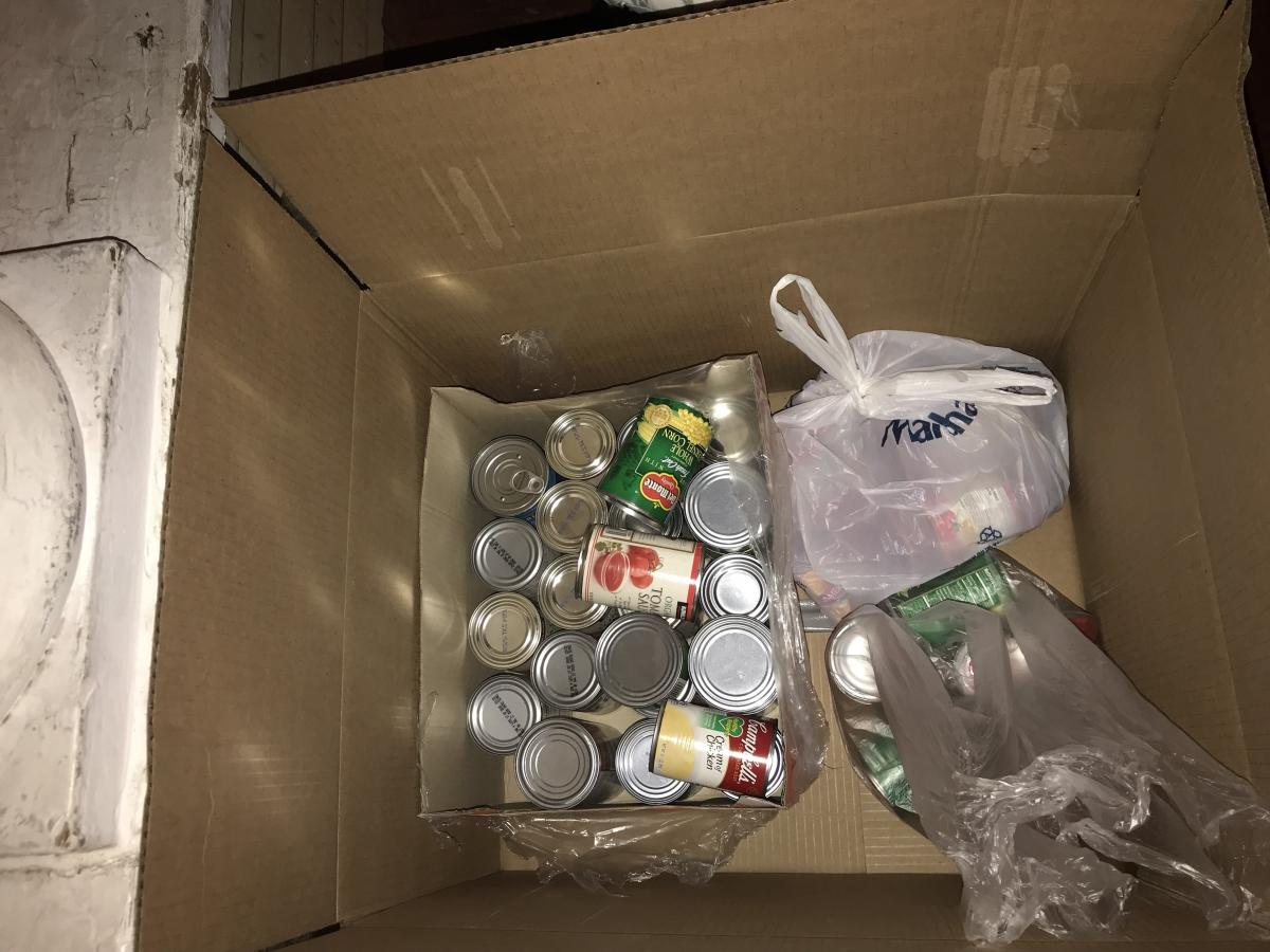 Canned Good Donations